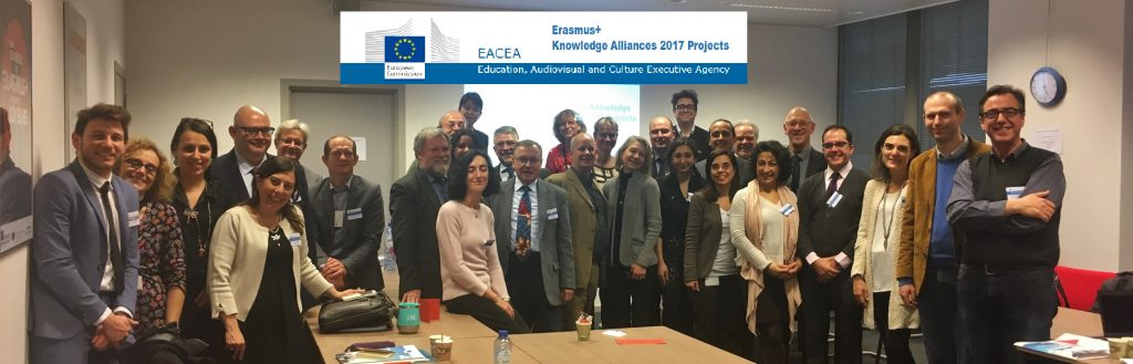 Knowledge Alliance Kick-off meeting and Cluster Meeting in Brussels