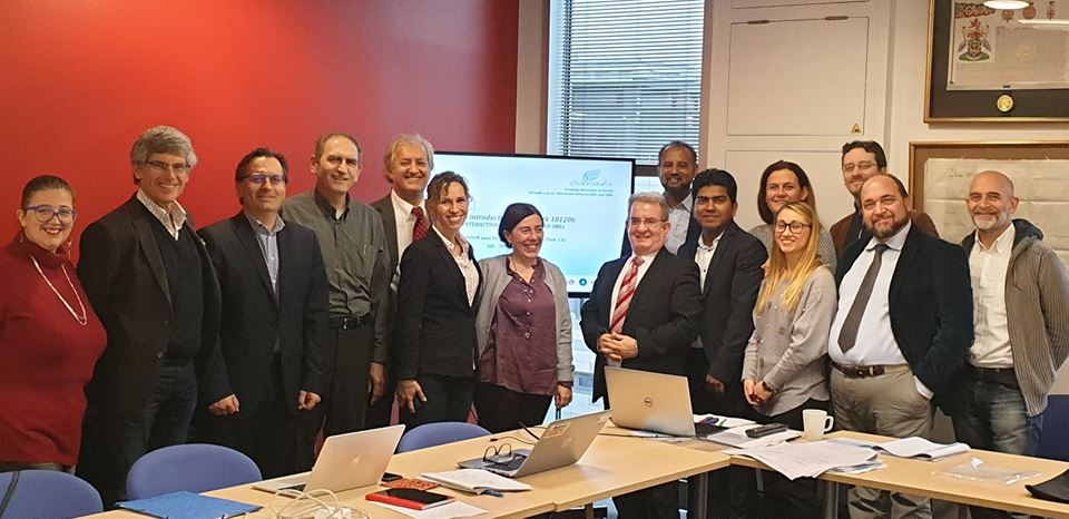 WP3  Second Joint Technical Meeting  in London, UK