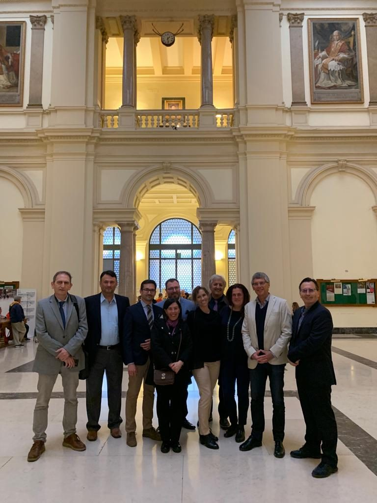 The 5ᵗʰ Project Meeting in Rome, Italy